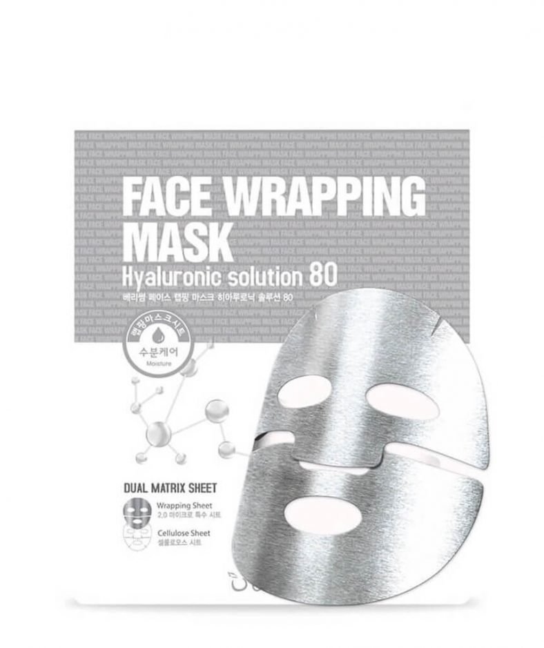 Berrisom Face Wrapping Mask Hyaluronic Solution 80
