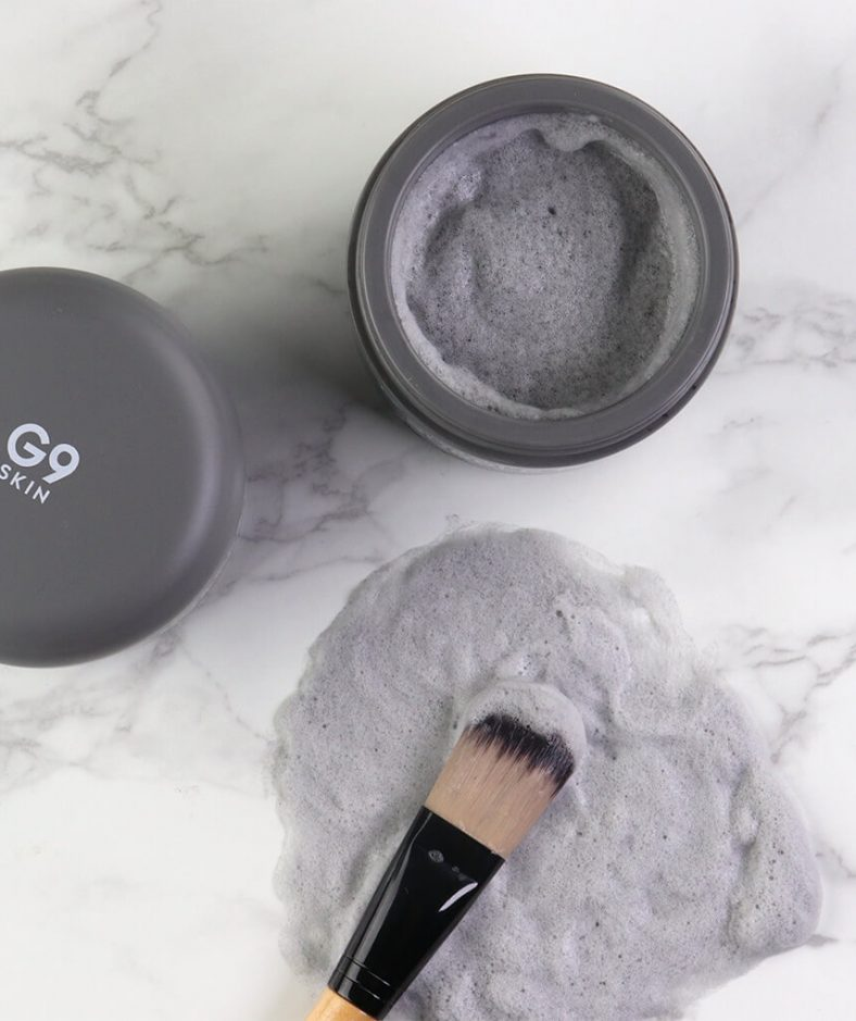 G9 Skin Color Clay Carbonated Bubble Pack