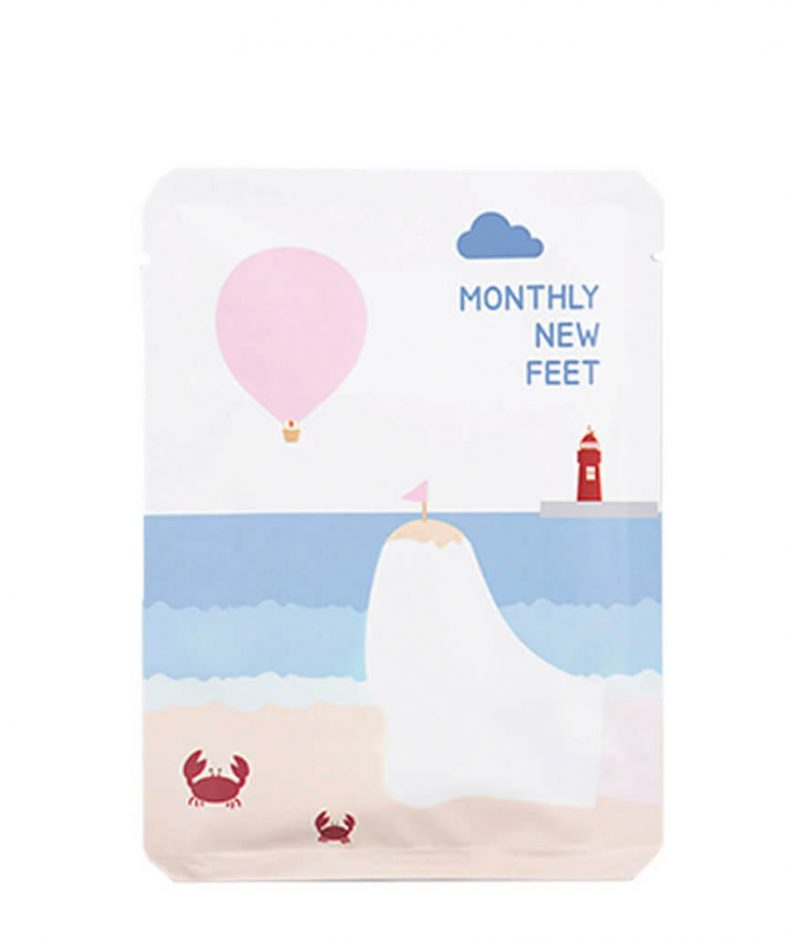 PACK-age Monthly New Feet Foot Mask