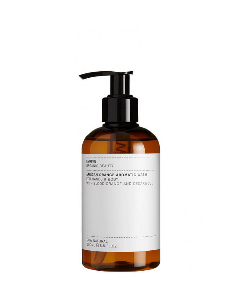 Evolve Organic Beauty African Orange Aromatic Wash
