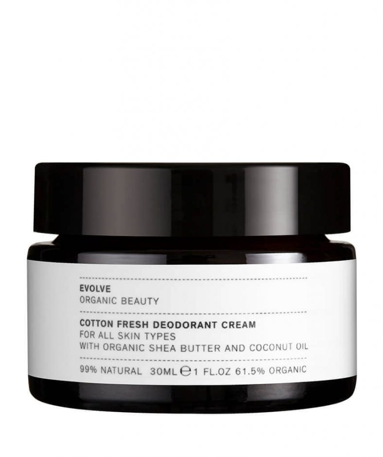 Evolve Organic Beauty Cotton Fresh Deodorant Cream