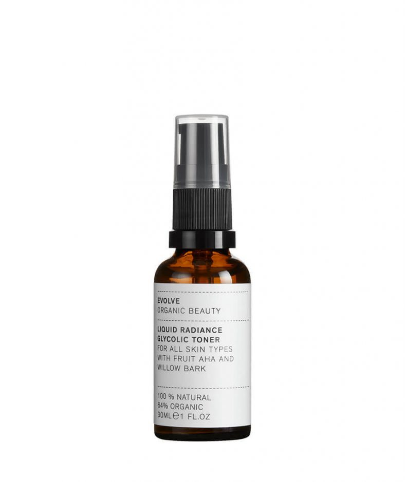 Evolve Organic Beauty Liquid Radiance Glicolic Toner