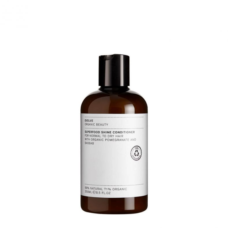 Evolve Organic Beauty Superfood Shine Conditioner_Travel Size