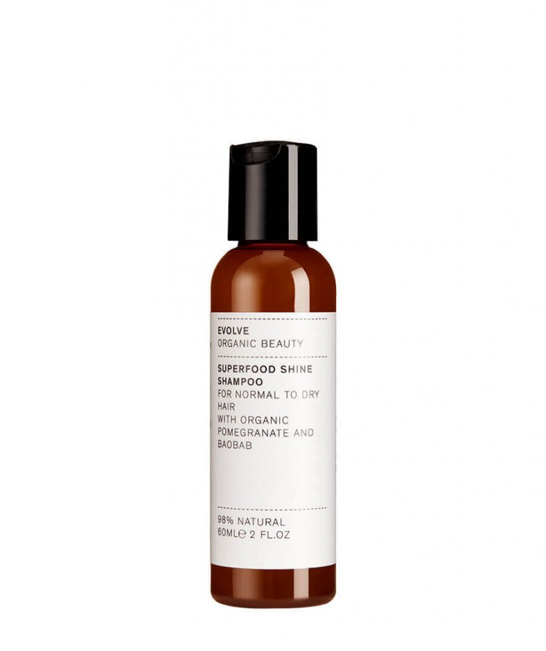 Evolve Organic Beauty Superfood Shine Shampoo