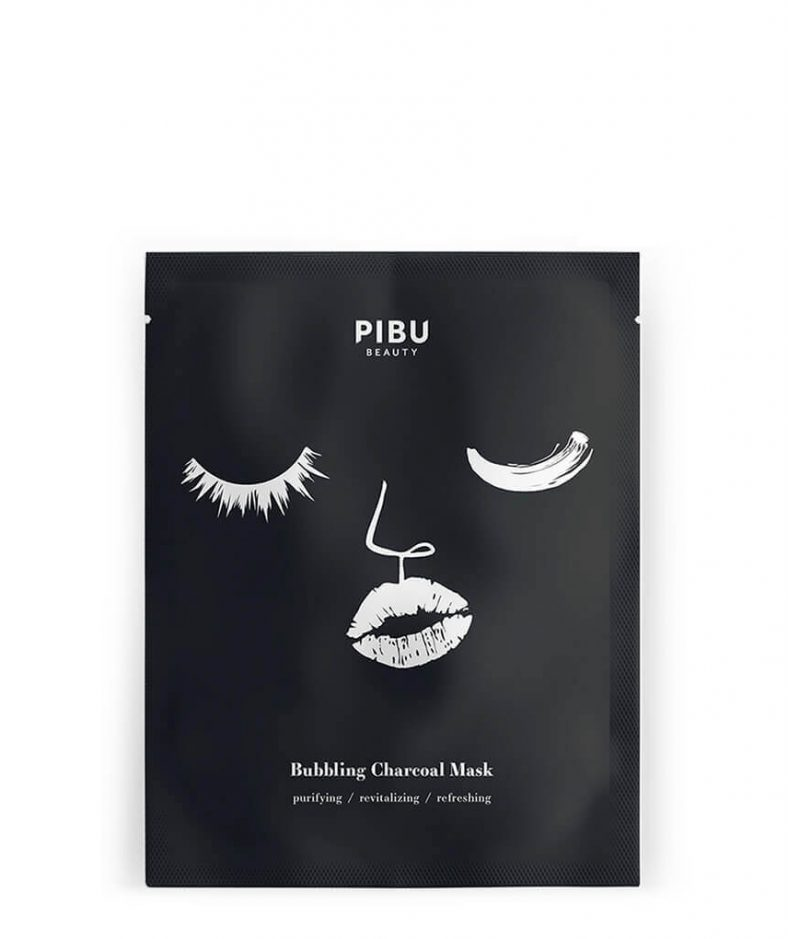 Pibu Bubbling Charcoal Mask
