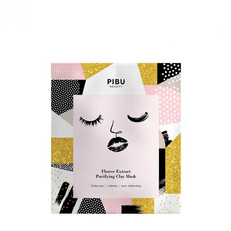 Pibu Flower Extract Purifying Clay Mask