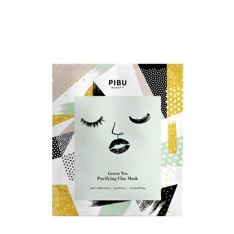Pibu Green Tea Purifying Clay Mask