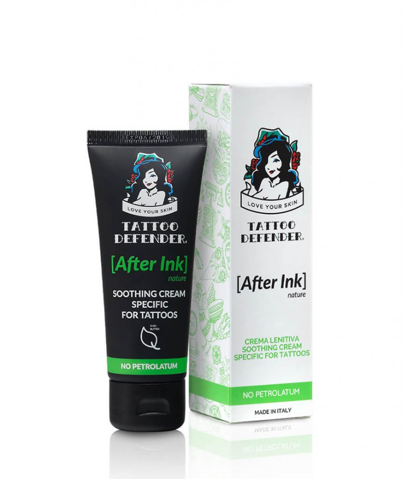 Tattoo Defender After Ink soothing cream nature