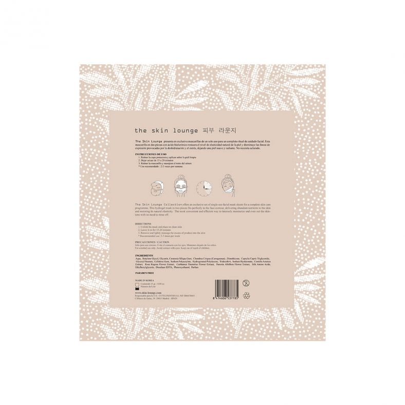 The Skin Lounge Hydrogel Hyaluronic Facial Mask
