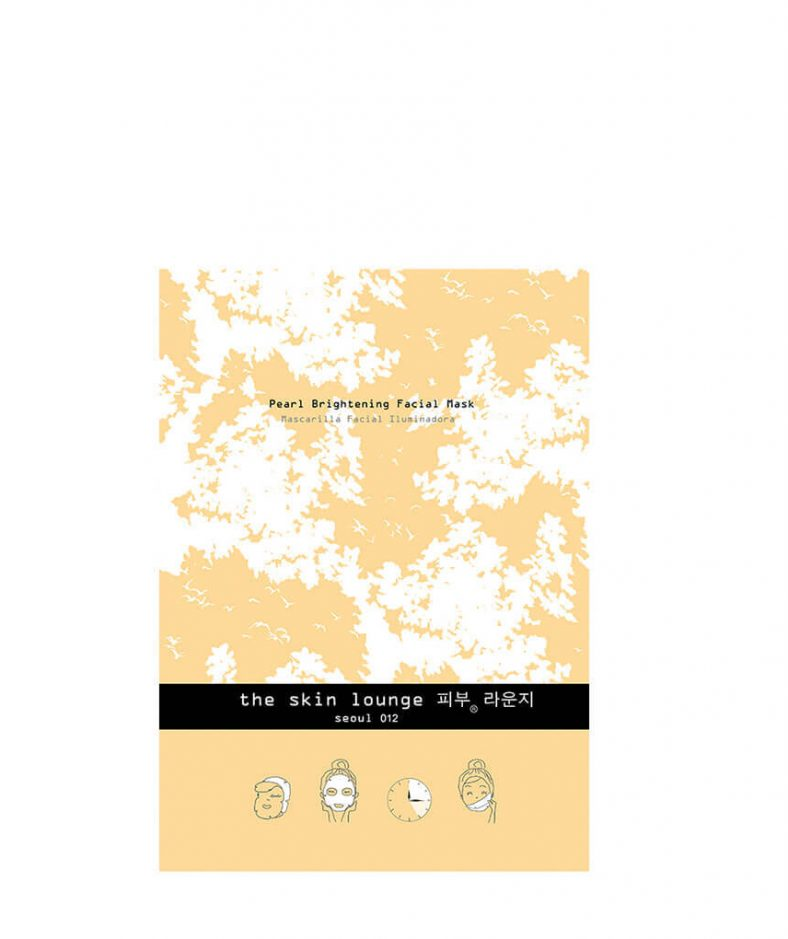 The Skin Lounge Pearl Brightening Facial Mask