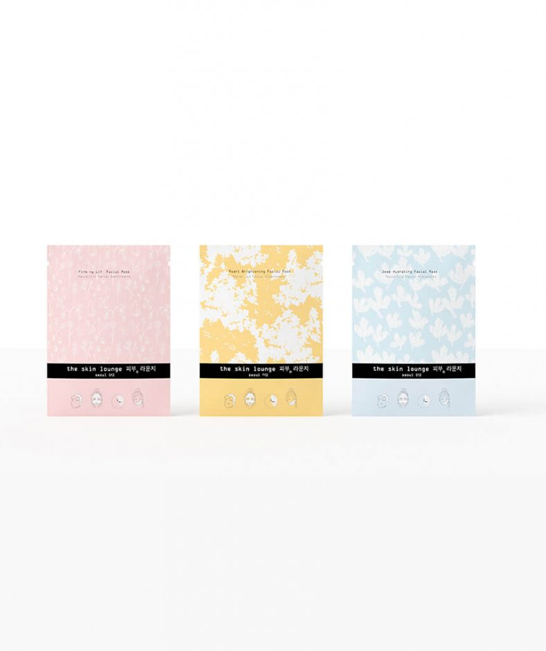 The Skin Lounge Seoul Collection Pack 3 Facial Masks