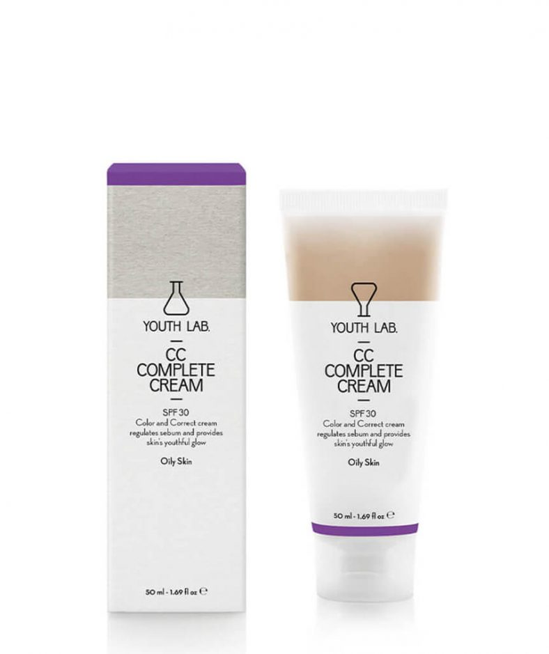 YouthLab CC Complete Cream Spf 30 Pa+++ -Oily Skin