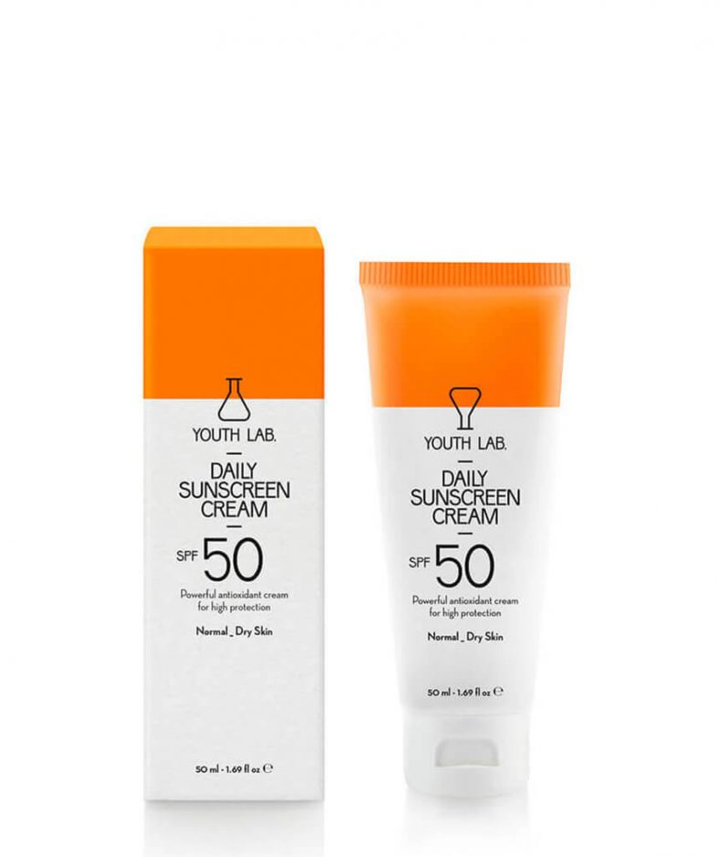 YouthLab Daily Sunscreen Cream Spf 50 Pa+++ -Normal_Dry Skin