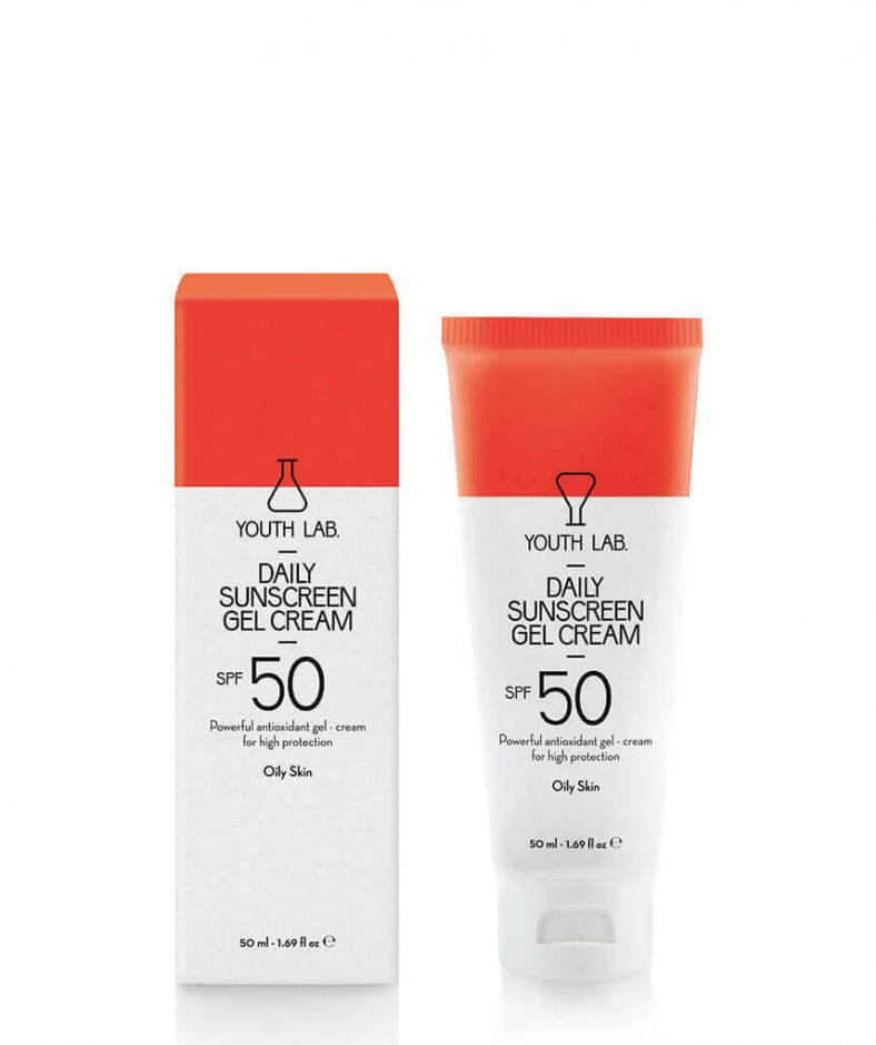 YouthLab Daily Sunscreen Gel Cream Spf 50 Pa+++ - Oily Skin
