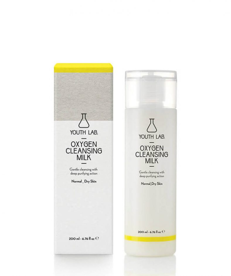 YouthLab Oxygen Cleansing Milk - All Skin Types
