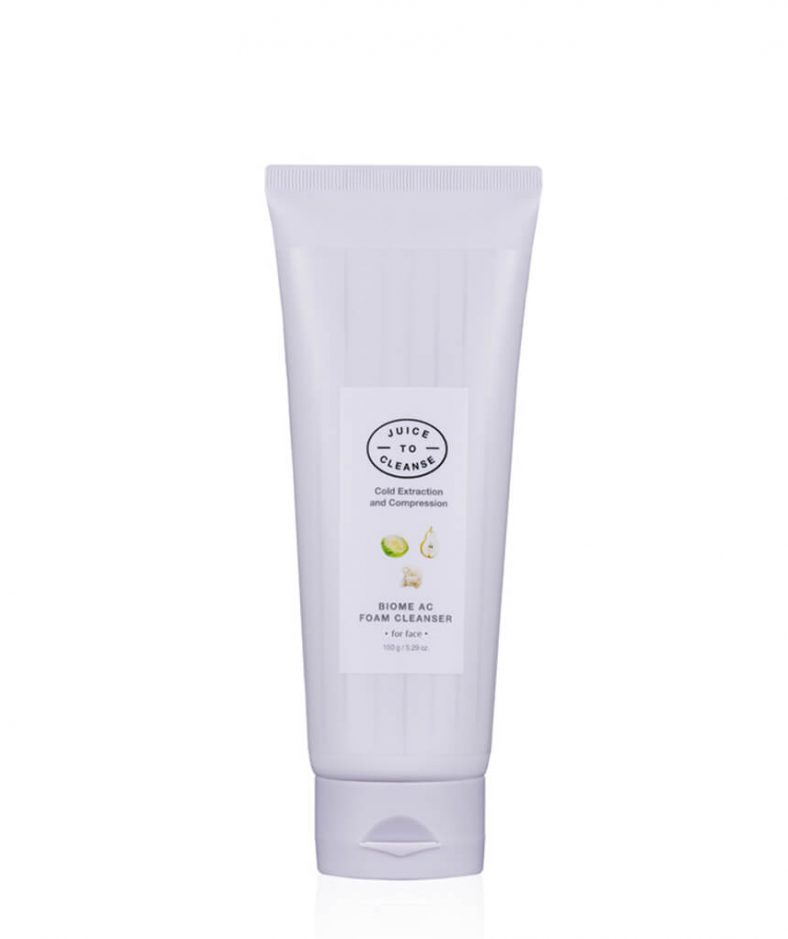 Juice to Cleanse Biome Ac Foam Cleanser